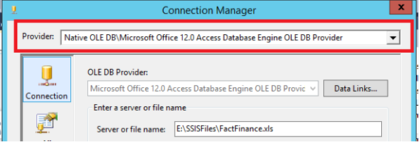 Myth: Excel Connection Manager works only in 32-bit mode of